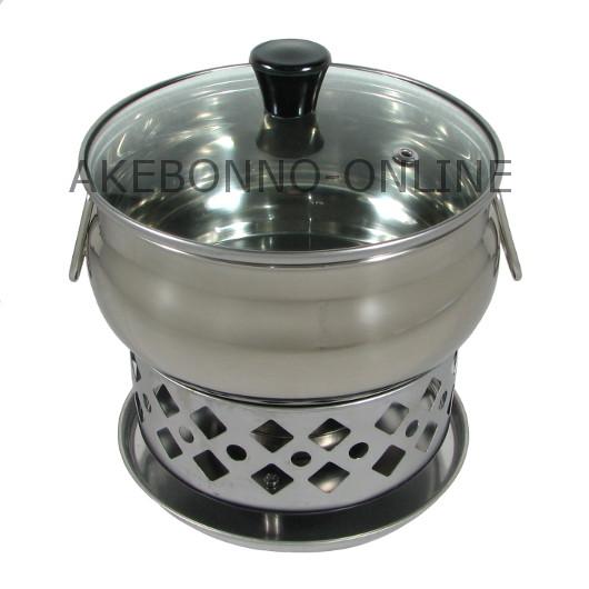 Peralatan Dapur Mini Hot Pot With Burner