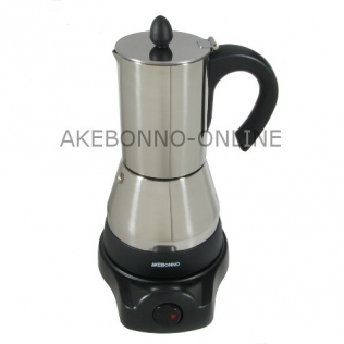 Akebonno Electric Moka Pot 4 Cups